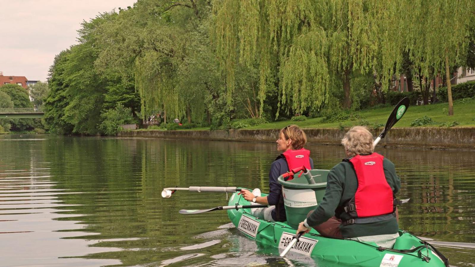 GreenKayak environmental initiative